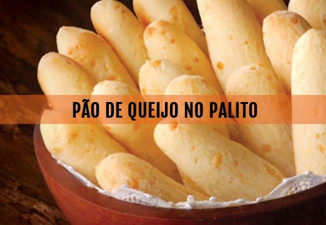 RECEITA: PÃO DE QUEIJO NO PALITO (crepito)