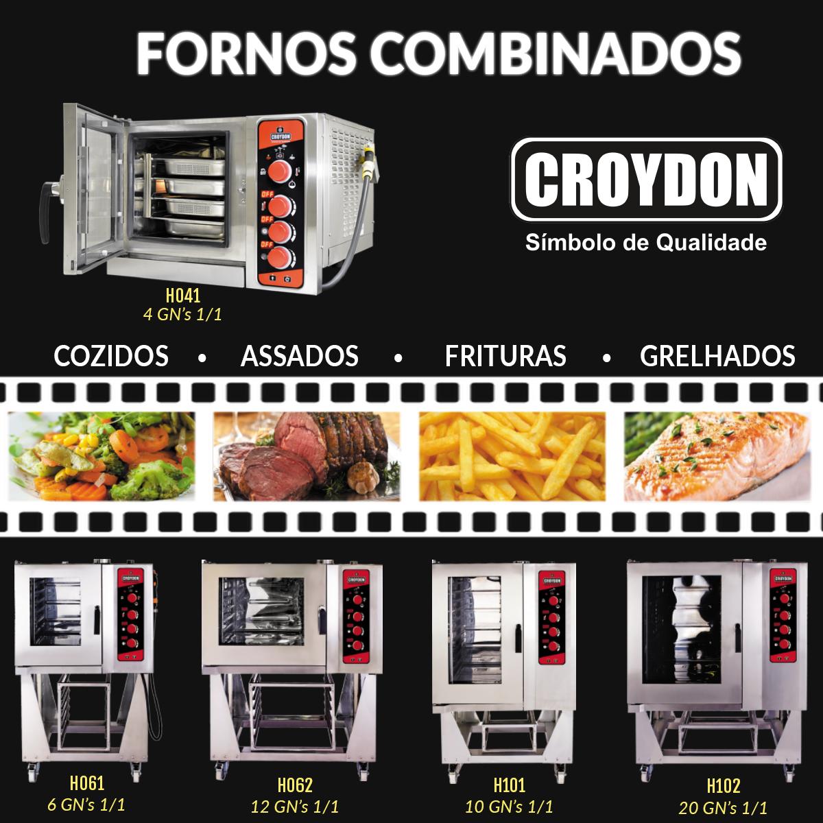 NOTÍCIAS: FORNO COMBINADO CROYDON