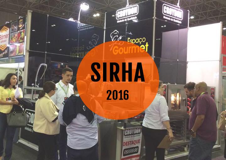 EVENTOS: FEIRA SIRHA RIO 2016