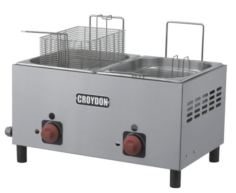 Fritadeira Gás (2x4,5 litros )