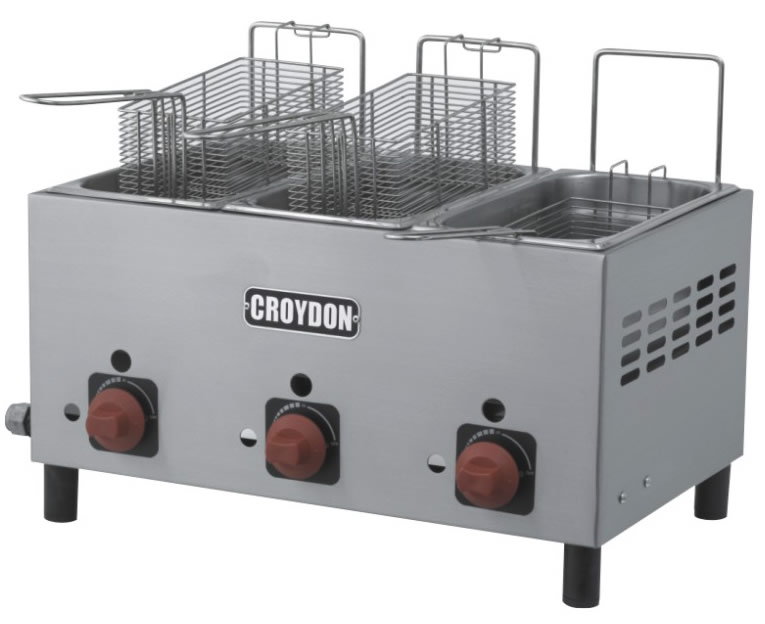 Fritadeira Gás (3x3 litros)
